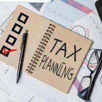 Tax planning notepad
